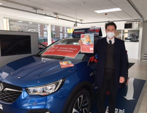 Arthurs Motor Group supports the British Heart Foundation Wales 'Restart a Heart Day' Campaign