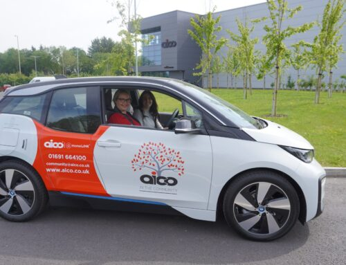 Oswestry company back out on the road in their new Community Car