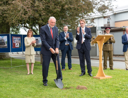 Spades in the ground to deliver new dedicated veterans centre at RJAH