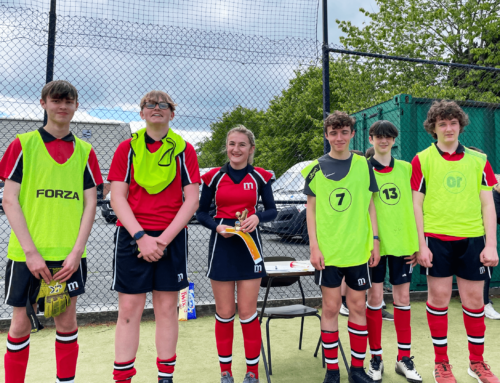 Marches students run successful charity football tournament