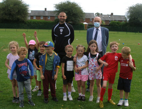 Oswestry Rotary Club Supports TNS Foundation Holiday Scheme for Local Youngsters