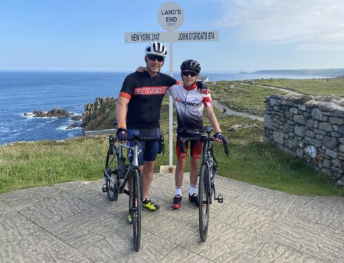 Teenage cyclist youngest to ride the length of the  country in 9 days