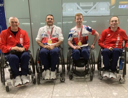 MCSI patients' part of wheelchair  rugby team who go for gold at Paralympics