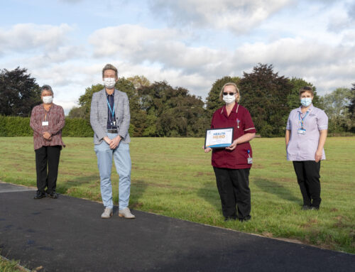 Cleanliness Technician hailed  Health Hero for supporting covid efforts