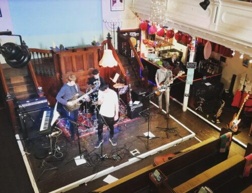 Oswestry Youth Music Collective – Qube's Youth Music project!