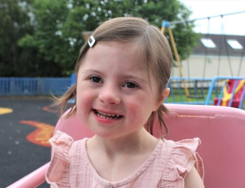 Oswestry's Amelia becomes face of Hope House Christmas Campaign