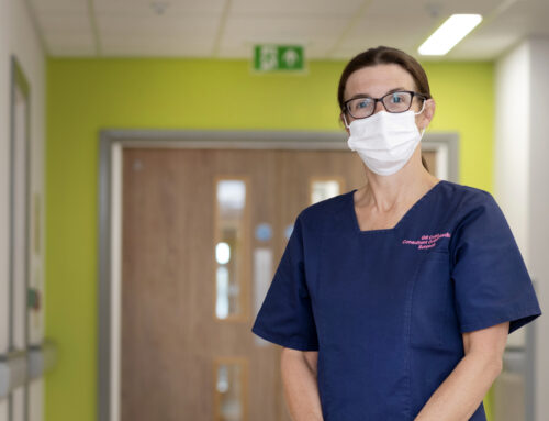 Consultant orthopaedic surgeon hailed 'bone idol' for work with primary bone cancer