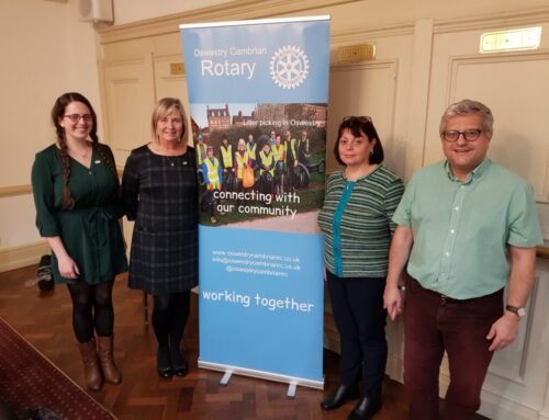 New members join Rotary Club